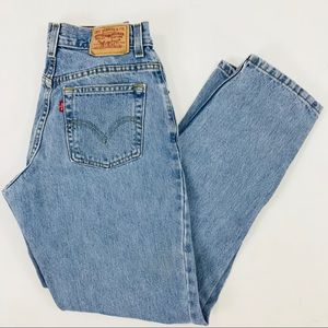 Levi 550. High waisted. Classic relaxed fit jeans